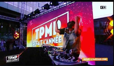 B-SO dans l'émission TPMP avec Boostee